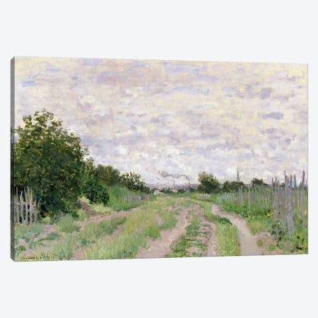 Path through the Vines, Argenteuil, 1872  Canvas Print #BMN2840} by Claude Monet Canvas Artwork
