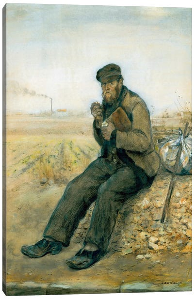 The Tramp  Canvas Art Print