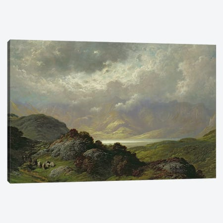 Scottish Landscape  3-Piece Canvas #BMN2853} by Gustave Dore Art Print