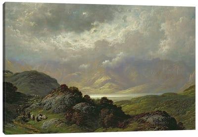 Scottish Landscape  Canvas Art Print