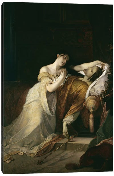 Joanna the Mad  Canvas Art Print