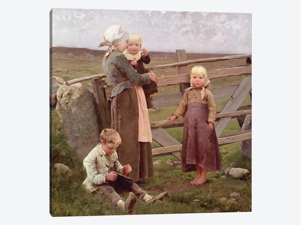 The Dalby Gate, Skane, 1884  by Hugo Salmson 1-piece Art Print