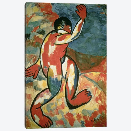 A Bather, 1911  Canvas Print #BMN2864} by Kazimir Severinovich Malevich Canvas Print