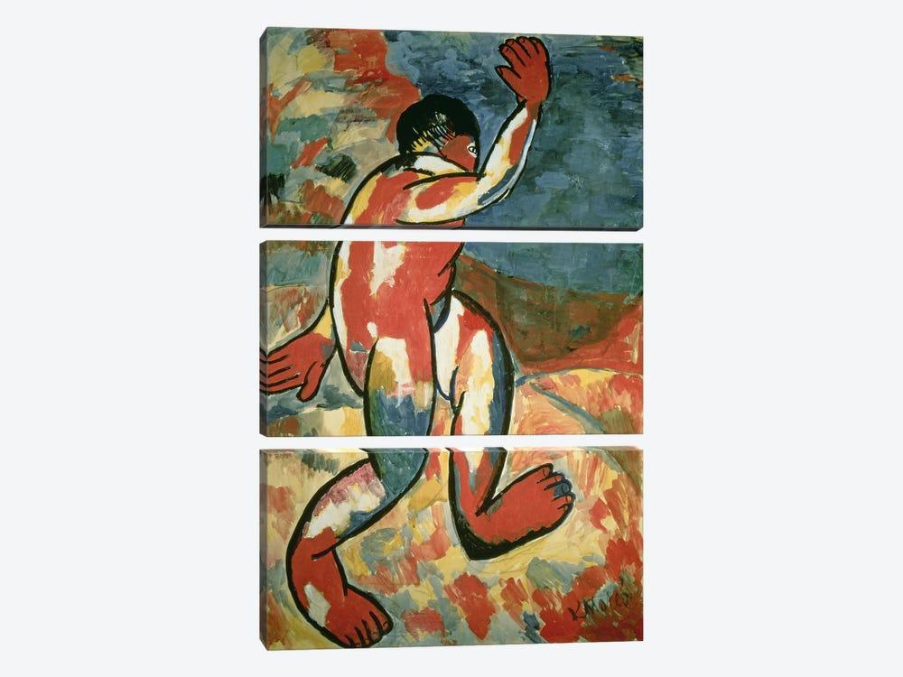 A Bather, 1911  by Kazimir Severinovich Malevich 3-piece Canvas Art