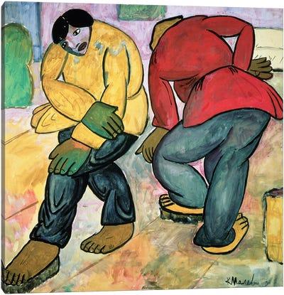 The Floor Polishers, 1911  Canvas Art Print