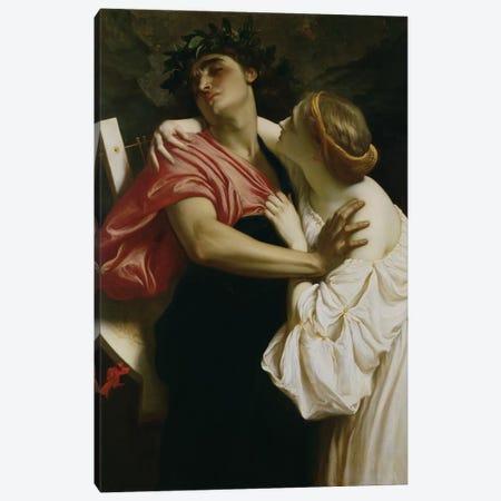 Orpheus and Euridyce  Canvas Print #BMN2867} by Frederic Leighton Canvas Art Print
