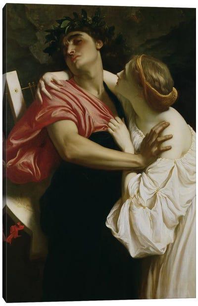 Orpheus and Euridyce  Canvas Art Print