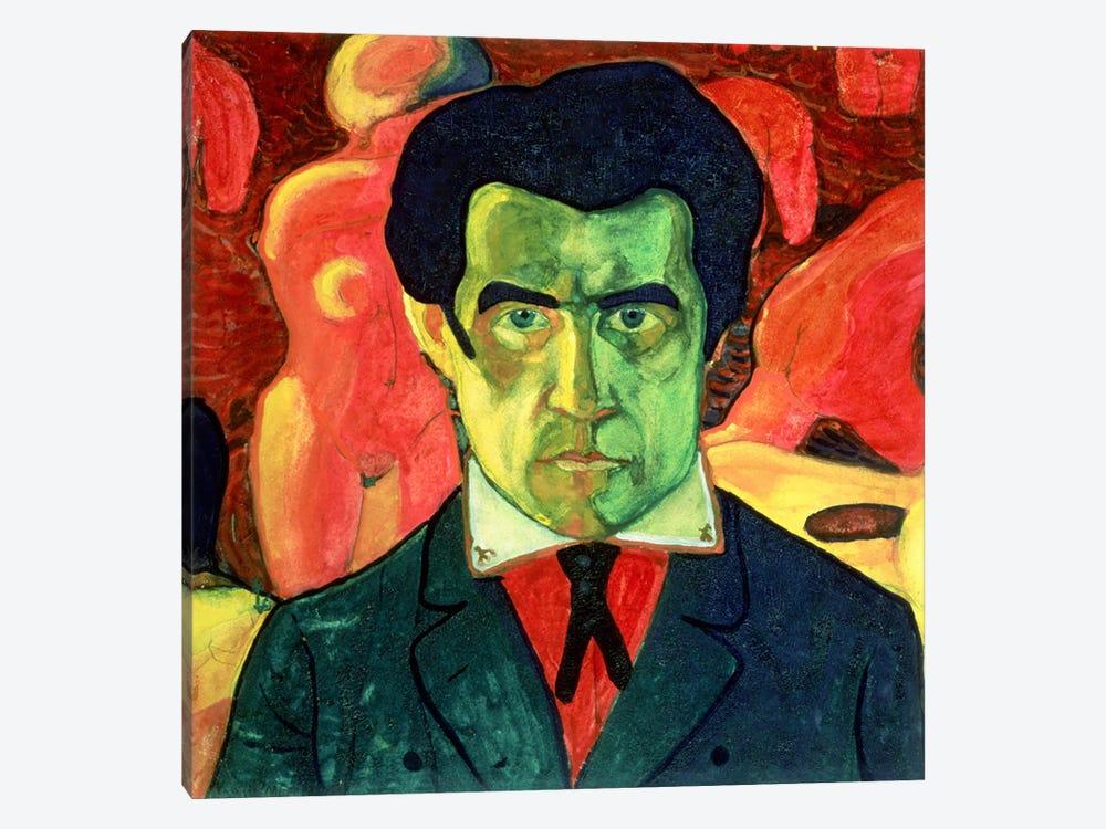 Self Portrait, 1908  by Kazimir Severinovich Malevich 1-piece Art Print