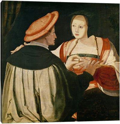 The Engagement  Canvas Art Print