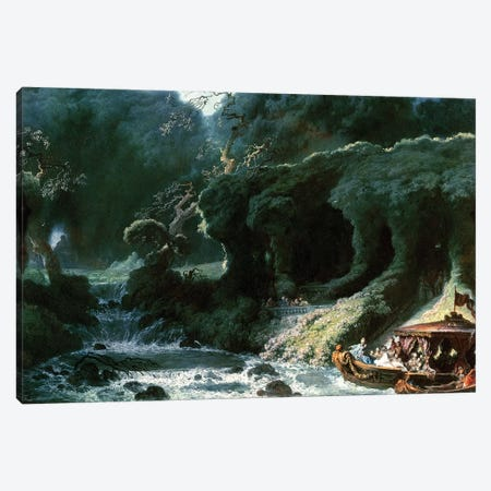 The Fete at Rambouillet or, The Island of Love, c.1770  Canvas Print #BMN2874} by Jean-Honore Fragonard Canvas Artwork