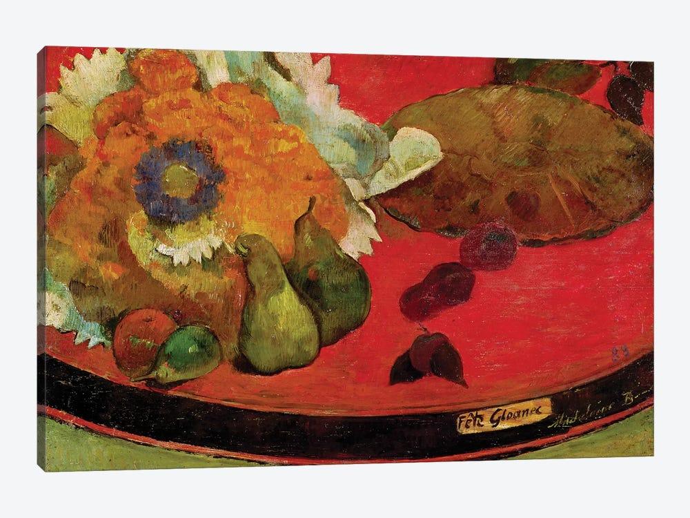 Fete Gloanec, 1888  by Paul Gauguin 1-piece Canvas Artwork