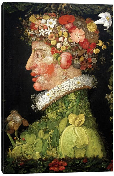 Spring, 1573  Canvas Art Print