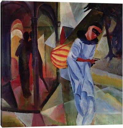 Pierrot, 1913  Canvas Art Print