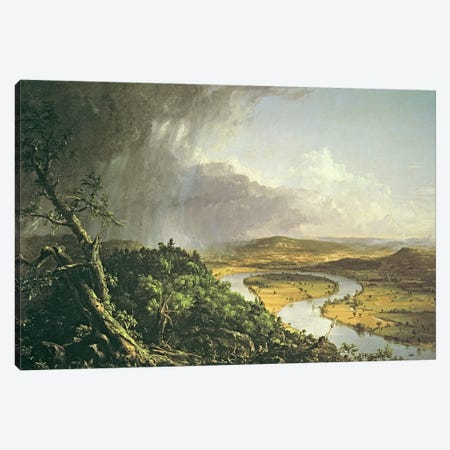 The Oxbow  Canvas Print #BMN2898} by Thomas Cole Canvas Art Print