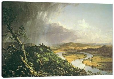 The Oxbow  Canvas Art Print