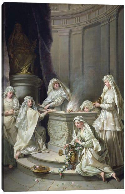 Vestal Virgins, 1727  Canvas Art Print