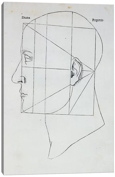 The Human Head Canvas Art Print