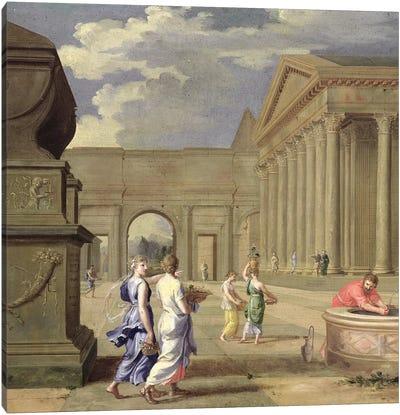 Classical Landscape  Canvas Art Print