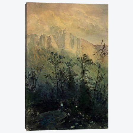 Landscape in the Vosges, c.1883  Canvas Print #BMN2919} by Gustave Dore Canvas Wall Art