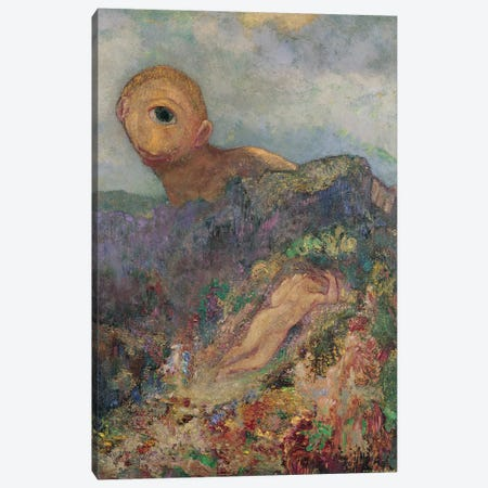The Cyclops, c.1914  Canvas Print #BMN291} by Odilon Redon Canvas Print