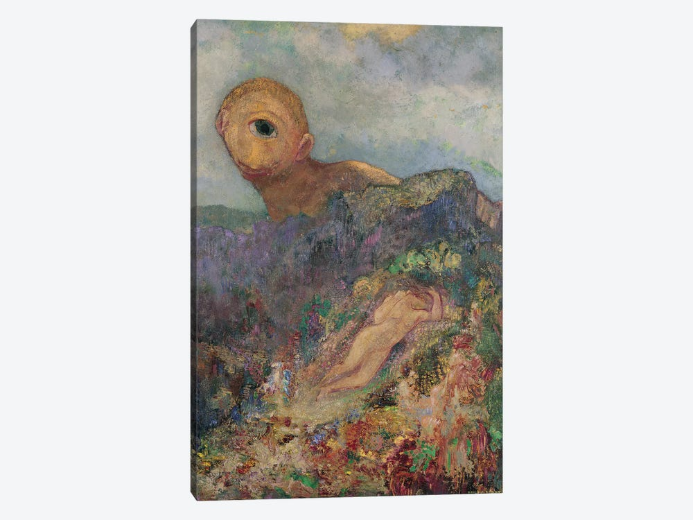The Cyclops, c.1914  by Odilon Redon 1-piece Canvas Artwork
