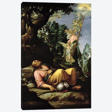 The Dream of Jacob  Canvas Print #BMN2922} by Alessandro Allori Art Print