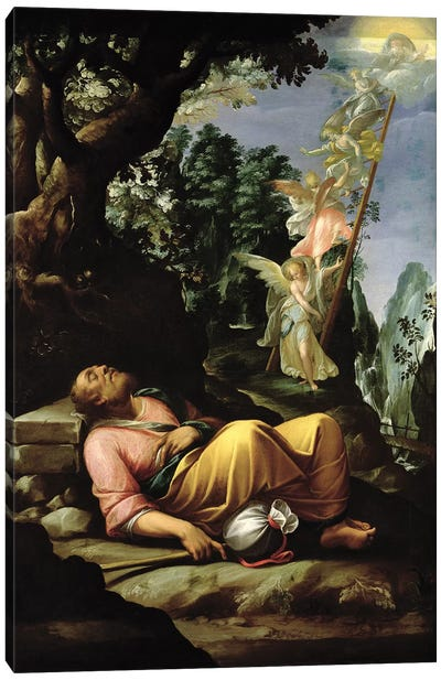 The Dream of Jacob  Canvas Art Print