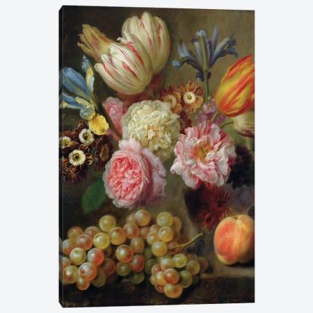 Flower Study  Canvas Print #BMN2931} by Balthasar Denner Canvas Artwork
