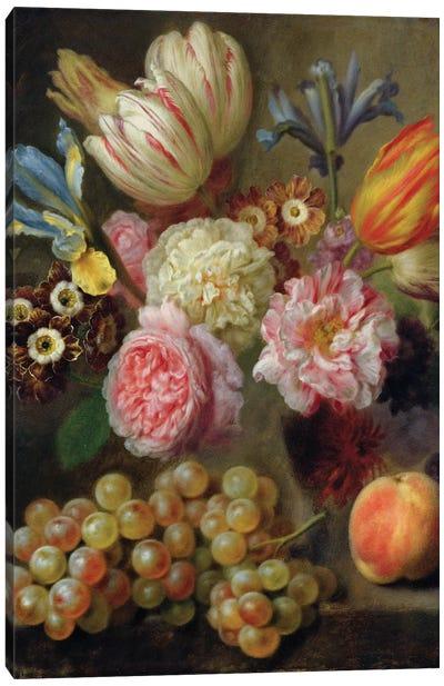 Flower Study  Canvas Art Print