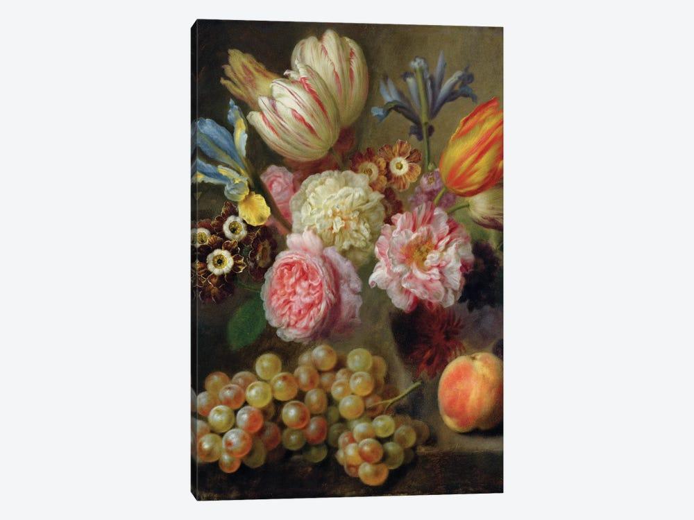 Flower Study  by Balthasar Denner 1-piece Canvas Print