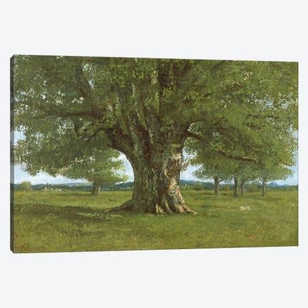 The Oak of Flagey, called Vercingetorix Canvas Print #BMN293} by Gustave Courbet Art Print