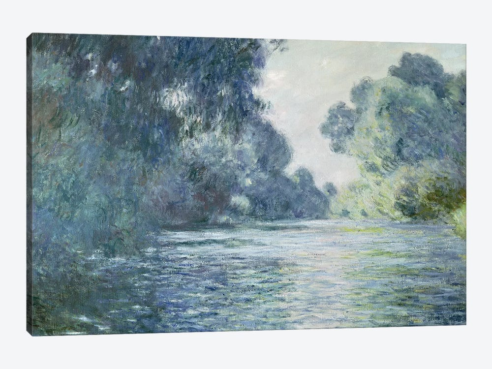 Branch of the Seine near Giverny, 1897  by Claude Monet 1-piece Canvas Art Print