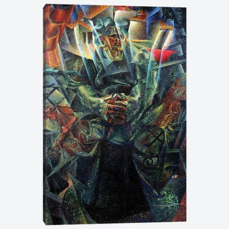 Materia, 1912  Canvas Print #BMN2951} by Umberto Boccioni Canvas Art