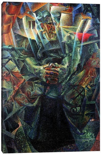 Materia, 1912  Canvas Art Print