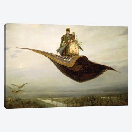 The Magic Carpet, 1880  Canvas Print #BMN2954} by Apollinari Mikhailovich Vasnetsov Art Print