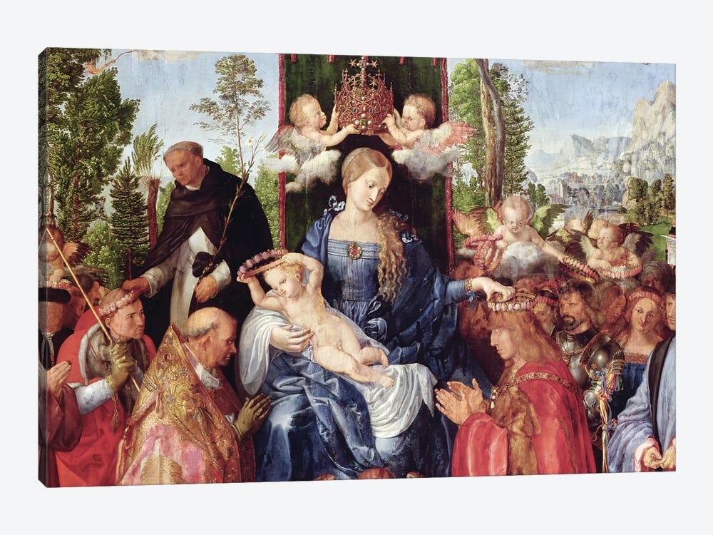 The Feast of the Rose Garlands, 1506   by Albrecht Dürer 1-piece Art Print