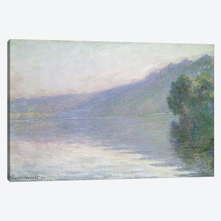 The Seine at Port-Villez, 1894  Canvas Print #BMN2957} by Claude Monet Art Print