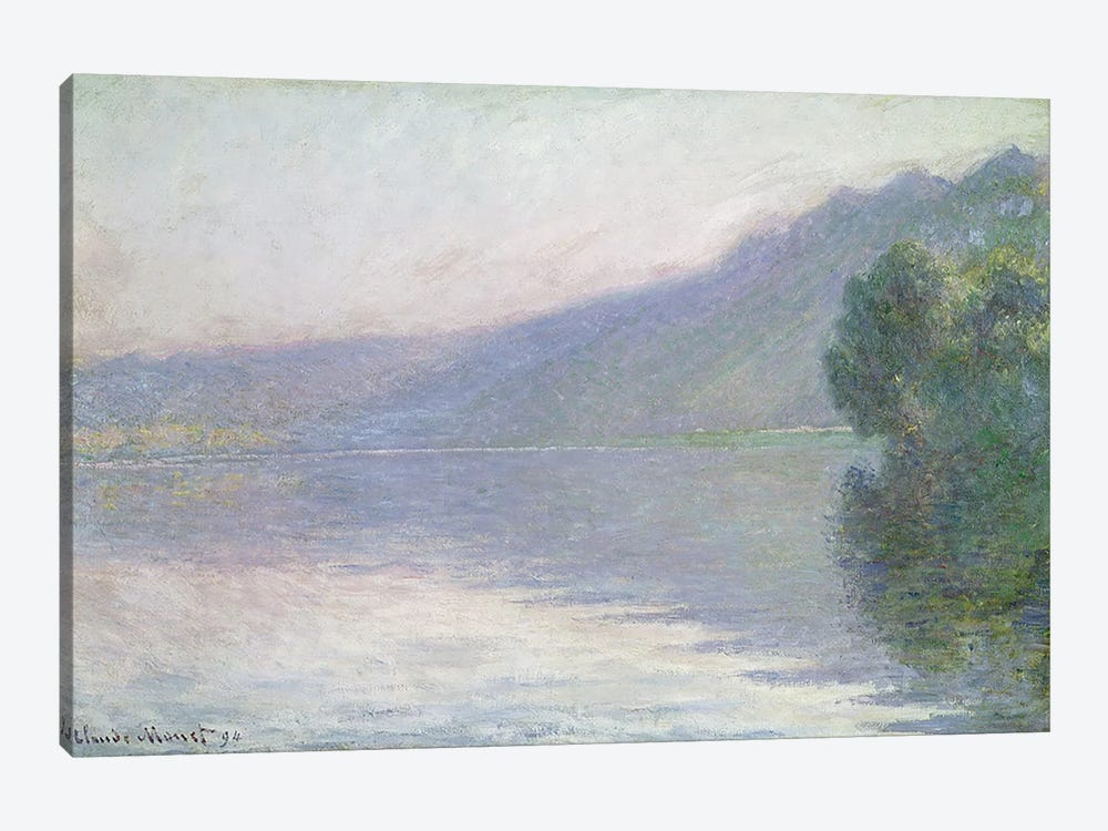 The Seine at Port-Villez, 1894 by Claude Monet 1-piece Canvas Art Print
