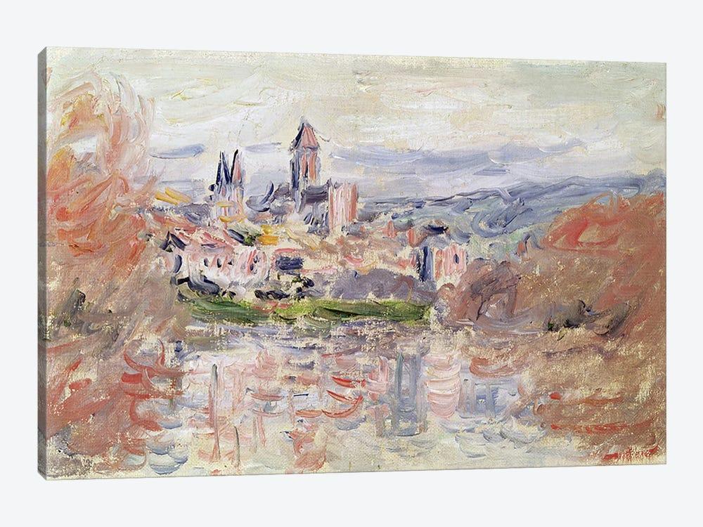 The Village of Vetheuil, c.1881  by Claude Monet 1-piece Canvas Artwork
