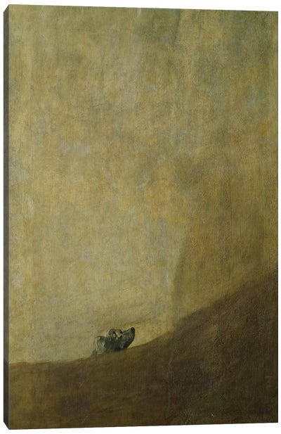 The Dog, 1820-23  Canvas Art Print