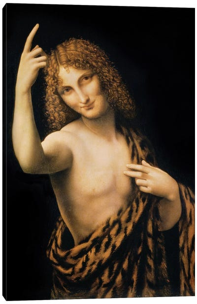 St. John the Baptist, 16th century  Canvas Art Print