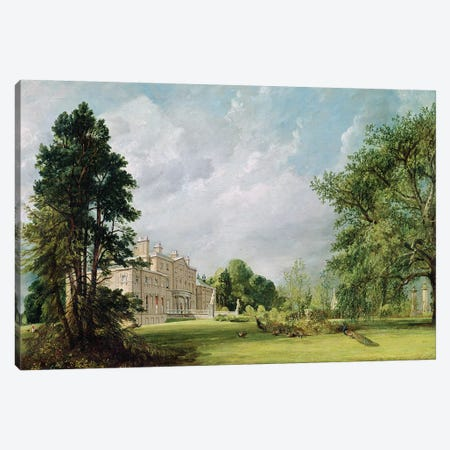 Malvern Hall, Warwickshire, 1821  Canvas Print #BMN2964} by John Constable Canvas Wall Art