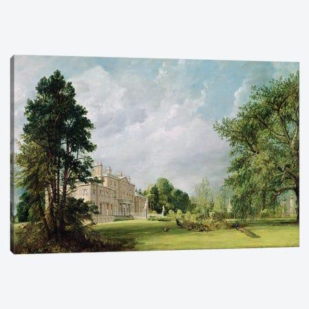 Malvern Hall, Warwickshire, 1821  Canvas Print #BMN2964} by John Constable Canvas Wall Art