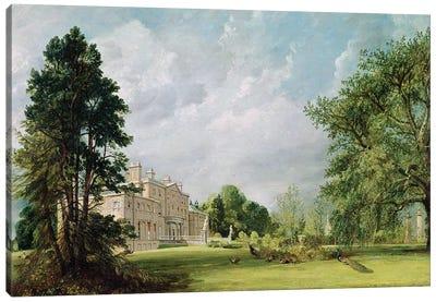 Malvern Hall, Warwickshire, 1821  Canvas Art Print