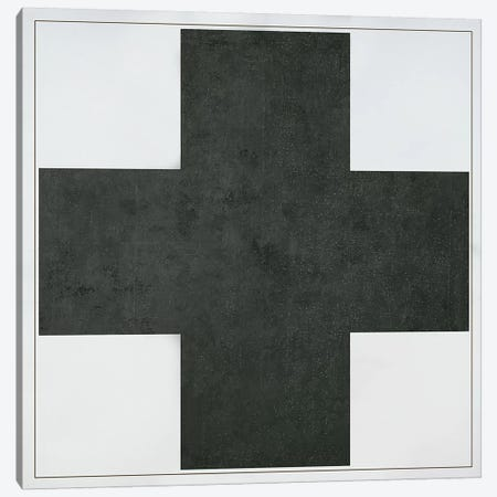 Black Cross, c.1923  Canvas Print #BMN2970} by Kazimir Malevich Canvas Art