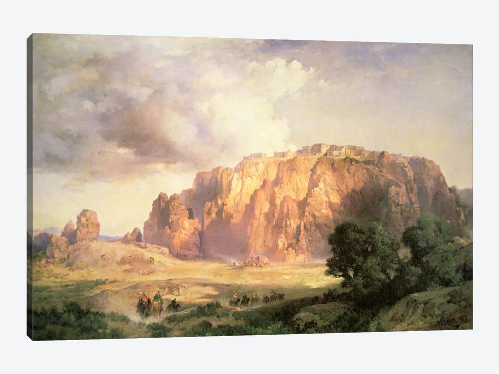 The Pueblo of Acoma, New Mexico  by Thomas Moran 1-piece Art Print