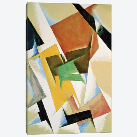 Compostion, 1921  Canvas Print #BMN2976} by Lyubov Popova Canvas Print