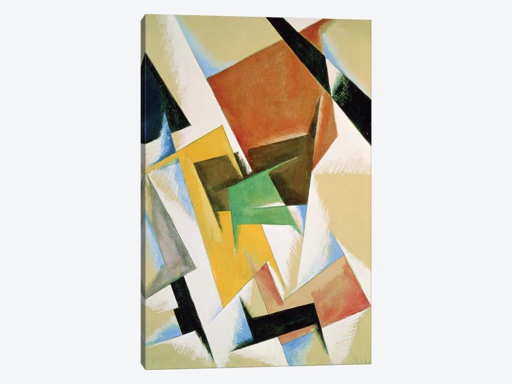 Compostion, 1921  by Lyubov Popova 1-piece Canvas Wall Art