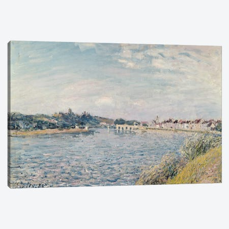 Landscape, 1888  Canvas Print #BMN2981} by Alfred Sisley Canvas Art Print