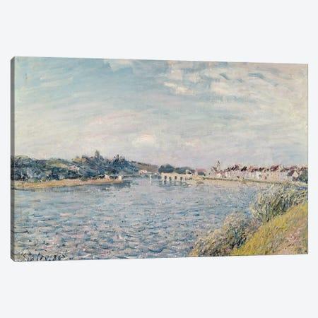 Landscape, 1888  3-Piece Canvas #BMN2981} by Alfred Sisley Canvas Art Print